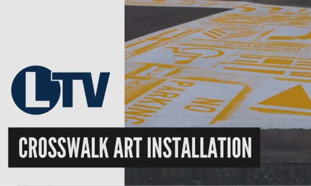 Crosswalk Art Installation