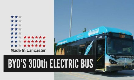 BYD's 300th Electric Bus | Made In Lancaster