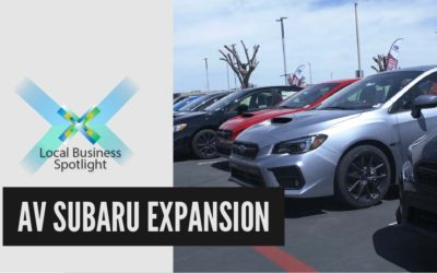 AV Subaru Expansion | Local Business Spotlight