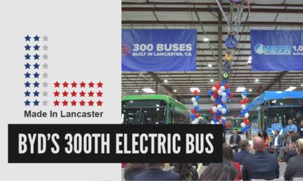 BYD's 300th Electric Bus (Full Press Conference) | Made In Lancaster